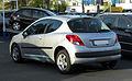 Peugeot 207 75 Urban Move (Facelift) – Heckansicht, 9. April 2011, Ratingen.jpg