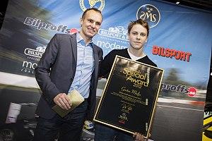 Gustav Malja - Malja receiving the Rydell Special Award for the 2012 season.