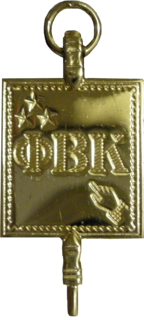 Phi Beta Kappa Honor society for the liberal arts and sciences in the United States