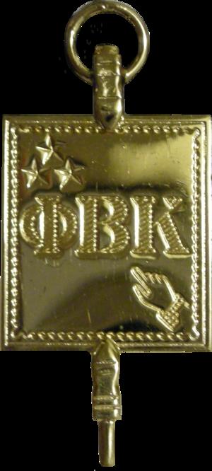 Phi Beta Kappa Society - Image: Phi Beta Kappa Key