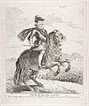 Philip III, King of Spain on horseback, after Velázquez MET DP818189.jpg