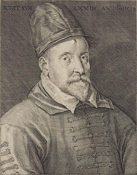 來自荷蘭的宮廷樂團指揮菲利普。(維基百科)
