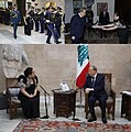 Philippine Ambassador to Lebanon Presents Credentials to the President of Lebanon 01.jpg