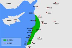 腓尼基地图