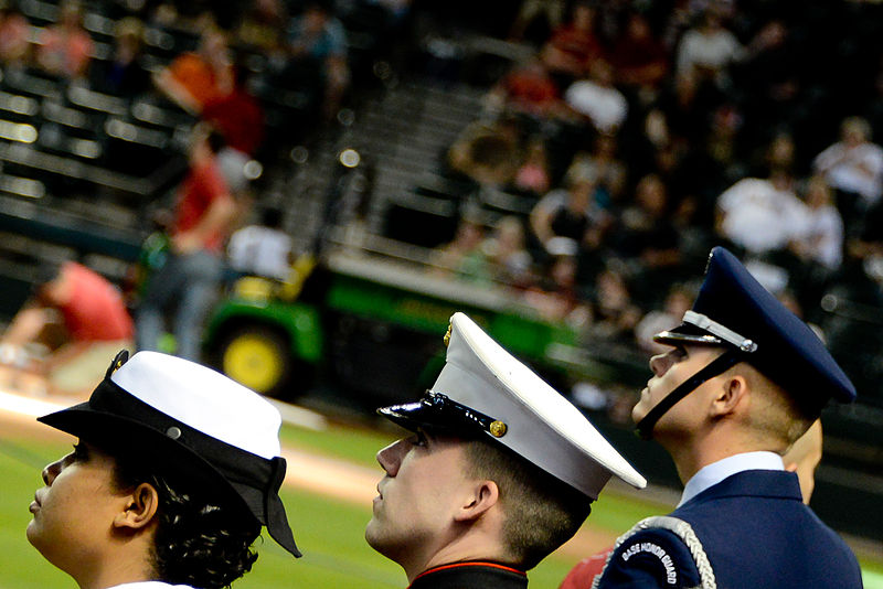 File:Phoenix Marine recognized during Memorial Day MLB matchup 140526-M-XK427-149.jpg