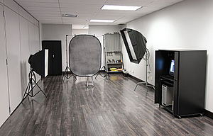 Photographic studio - A photographic studio