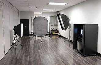 Photographic studio - A photographic studio