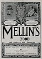 Photos of two infants in an advert for Mellin's food Wellcome V0047636.jpg