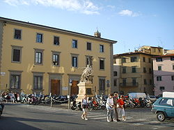 Piazza Mentana, prima Piazza delle Travi