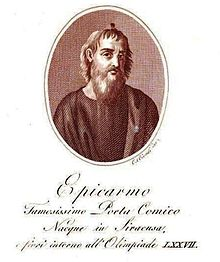 Pictorial history of Epicarmo,poet and writer.jpg