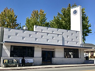 Key System - The former Key System train station on Piedmont Avenue in Oakland