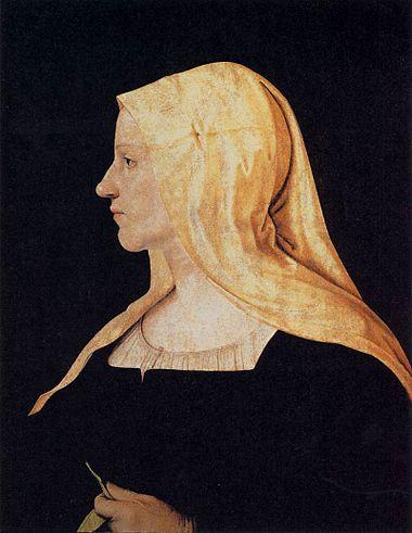 Piero di cosimo, ritratto di donna.jpg
