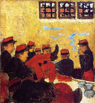 Pierre Bonnard - Image: Pierre Bonnard A Barracks Scene