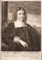 Pieter Christiaansz Bor - Alle de wercken van Mr. Pieter Bor - 1702 - Portrait - PPL-9231.tif
