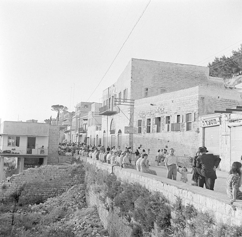 צפת רחוב ירושלים