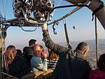 Piloting the 'Hot Air Balloon'.JPG