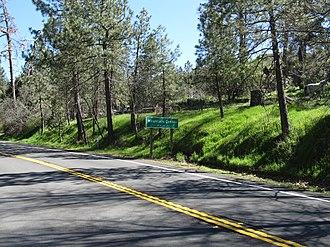 Mountain Center, California - Image: Pines to Palms Scenic Byway, Mountain Center, California
