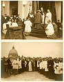 Pio XI all'inaugurazione della Pontificia Università Urbaniana De Propaganda Fide al Gianicolo 1933 Fondazione Paventi.JPG