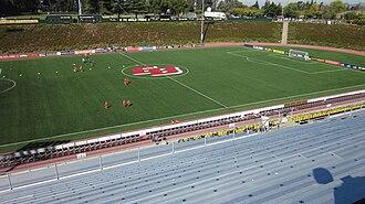 Pioneer Stadium - Image: Pioneer Stadium field 1