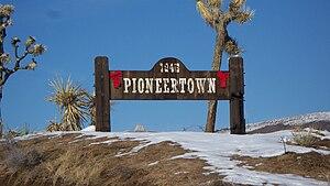 Pioneertown, California - Image: Pioneertown sign