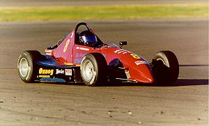 Formula 500 - Eric Christensen in a KBS Mk-8 at Phoenix International Raceway, January 1999