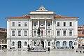Piran town hall Tartini monument.jpg