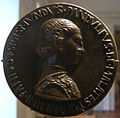Pisanello, prima medaglia di Sigismondo Pandolfo Malatesta, 1445.JPG