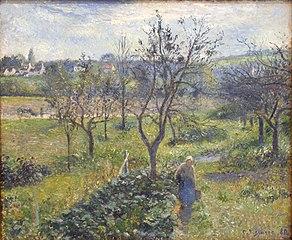 The Gardens at Le Valhermeil, Auvers-sur-Oise