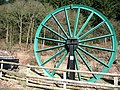 Pit head wheel - geograph.org.uk - 743621.jpg