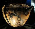 Pittore dell'aquila (attr.), hydria ceretana con ercole e l'idra, 530-500 ac ca., da etruria (villa getty) 01.JPG