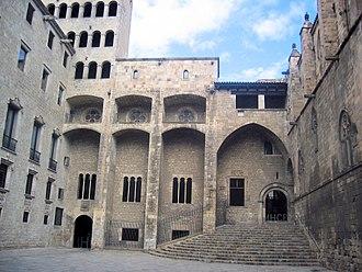 Palau Reial Major - Façade of the palace