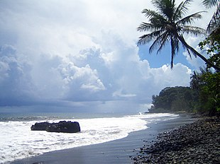 "Tahiti is famous for <a href=""http://search.lycos.com/web/?_z=0&q=%22black%20sand%22"">black sand</a> beaches."