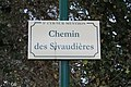 Plaque chemin Sivaudières St Cyr Menthon 5.jpg