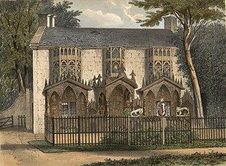 Plas Newydd, Llangollen - 1840. Walton,W.L., fl. 1834-1855, engraver.