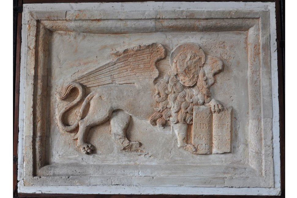 Plaster cast of lion, collection of Istituto Veneto di Scienze, Lettere ed Arti 26