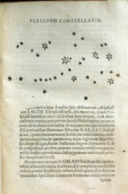 Pleiades Sidereus Nuncius