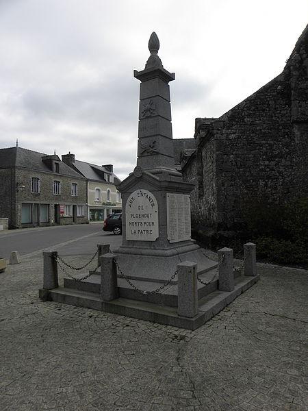 Monuments aux morts de Ploërdut (56).