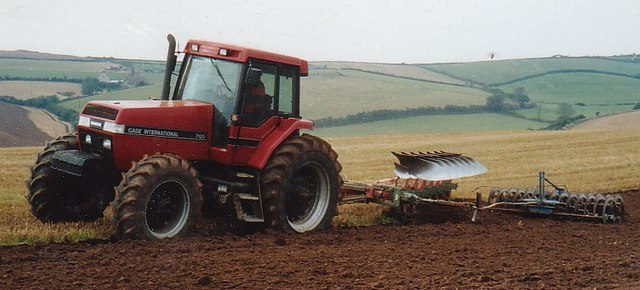 Ploughing - geograph.org.uk - 280384
