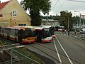 Plzeň, Vozovna Cukrovarská, autobusy.JPG