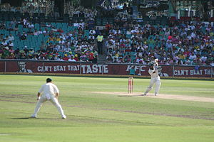 A cricket shot from Privatemusings, taken at t...