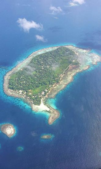 Micronesia - Romanum Island, Chuuk, Micronesia