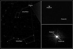Полярная звезда вид с hst