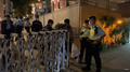 Police gate in Robinson Road 20210313.png