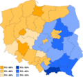 Polish Sejm election results 2011.png