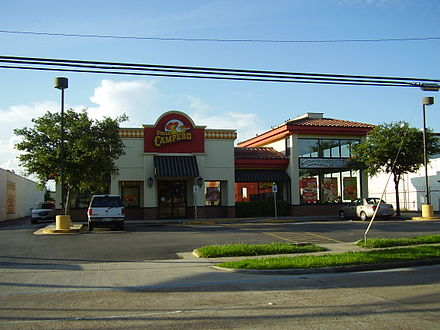 Camperos Restaurant Menu