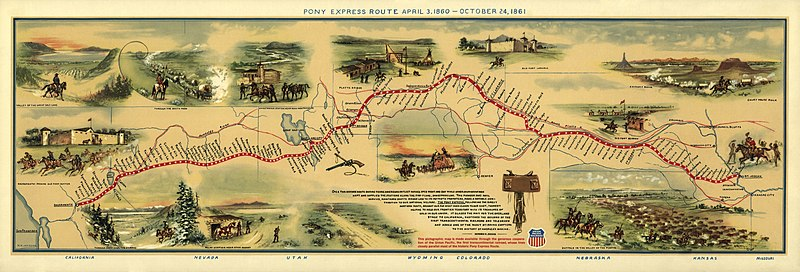 File:Pony Express Map William Henry Jackson.jpg