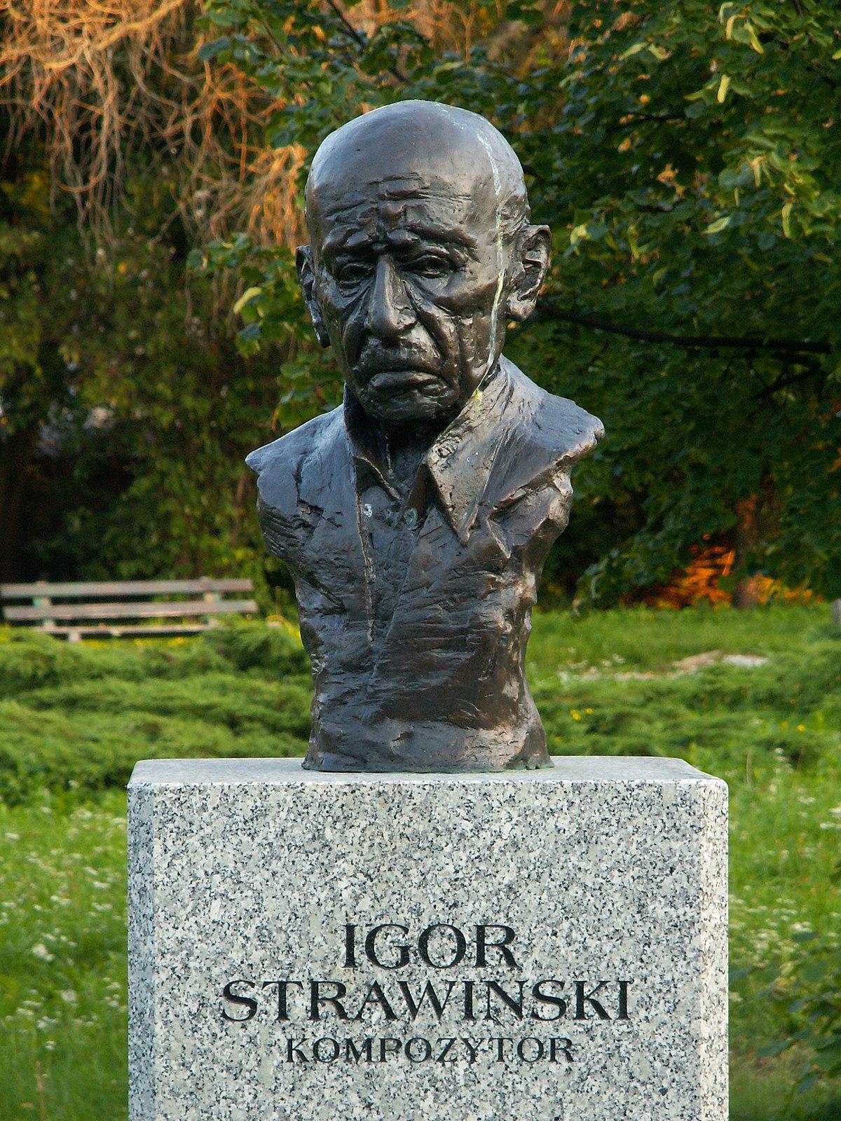 File:Popiersie Igor Strawiński ssj 20060914.jpg - Wikimedia Commons