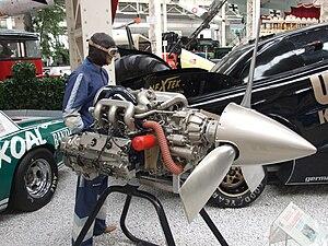 Porsche PFM 3200 - Porsche PFM 3200 aircraft engine in Technik Museum Speyer