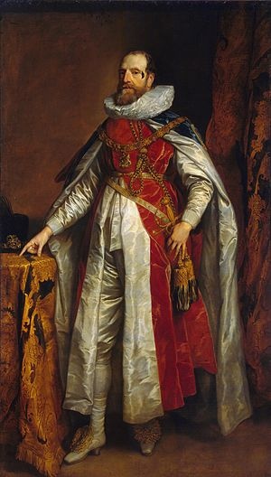 Henry Danvers, 1st Earl of Danby - Henry Danvers, Earl of Danby in a portrait of the 1630s by Anthony van Dyck.
