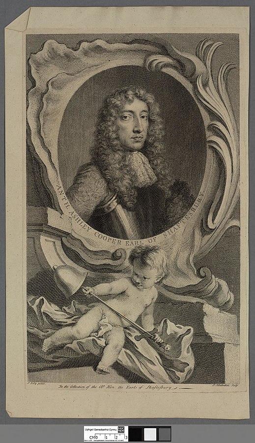 Anthony Ashley Cooper Earl of Shaftesbury